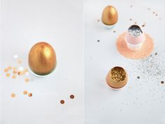 A Mexican tradition of throwing glitter- or confetti-filled eggs that's becoming popular at weddings.