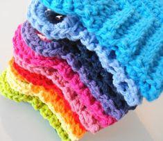 Apple Blossom Dreams: Stash-Buster #6 - A Rainbow of Dishcloths