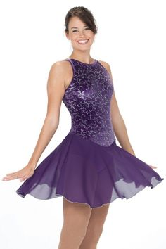 Beautiful Dance Debut Skating Dress, its so hard to find classical dresses like this anymore, so pretty