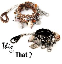 This or That? http://www.casettadimarzapanebijoux.com   #trends #fashion #summer #sea #HappyFriday