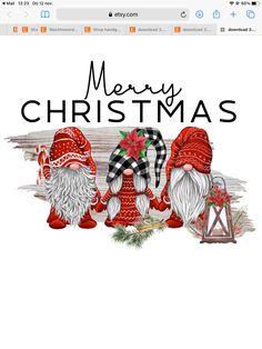 Christmas Scenes, Christmas Gnome, Christmas Projects, Christmas Holidays, Christmas Decorations, Christmas Ornaments, Christmas Clipart, Christmas Printables, Xmas Drawing