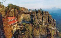 Pravčická gate - Česko-Saské Švýcarsko - Bohemian Switzerland, Chech Republic