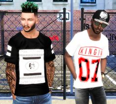 Sims 4 CC's - The Best: Clothes for Men by Simblr in London