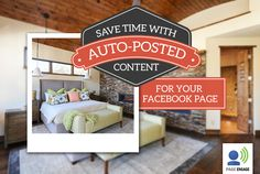 Agents, don't worry about taking time out of your day to find content for your Facebook page; we'll handle it for you!   With Page Engage, you'll get interesting real estate related images and articles auto-posted to your page daily. Just choose the days you want content to post and we'll do the rest!