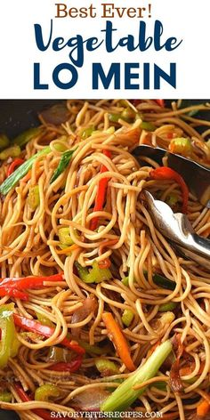 Best and easy authentic chinese vegetable lo mein recipe. Fix your dinner or lunch under 30 mins with this healthy noodle stir fry with cabbage and more veggies and best lo mein sauce to make this delicious chinese food menu item. Chinese Food Menu, Chinese Noodle Recipes, Homemade Chinese Food, Chinese Chicken Recipes, Easy Chinese Recipes, Asian Recipes, Beef Recipes, Chinese Dinner, Chinese Food Vegetarian