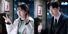 While You Were Sleeping Chan Lee, Doctor Stranger, Kdrama Memes, While You Were Sleeping, Bae Suzy, Lee Jong Suk, Me Tv, Korean Drama, Tv Series