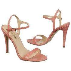 FERGIE WOMENS ROXANE CORAL LEATHER