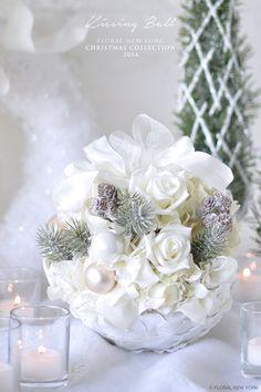 【Christmas Kissing Ball】|スタイルのある暮らし It's FLORAL NEW YORK Style ~暮らしをセンスアップするフラワースタイリングで毎日を心豊かに、心地よく~