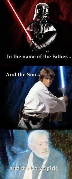 au nom du Père, du Fils et du Saint Esprit