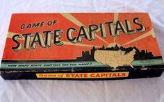 state capitals board game