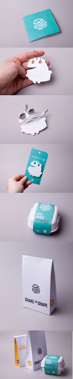 """The beginning of my Final Major Project. Identity and packaging ideas for a protein brand that is targeting a more """"normal"""" or """"non-bulky"""" part of the people. Hence the name : PUDGE."""