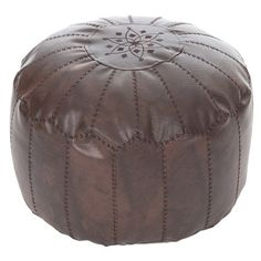 Add a splash of colour to your playroom or extra seating to your patio with this stunning Moroccan pouffe. Team with matching accents to update a neutral sch...