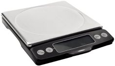 OXO Good Grips Stainless Steel Food Scale with Pull-Out Display by OXO. $48.99. Zero function allows for zeroing scale; thin profile for easy storage. User-friendly food scale with convenient pull-out display; 11-pound capacity. Measures in 1/8-ounce (imperial) and 1-gram (metric) increments for greater accuracy. Indicator displays how much capacity is left on scale; optional backlight. 4 AAA batteries included; 11-1/4 inches by 8-1/2 inches by 2 inches. The user-friendly OXO G...
