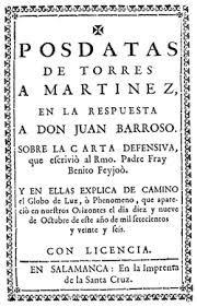 Diego Torres de Villarroel, catedrático de Matemáticas y otros oficios. | Matemolivares