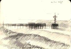 de pier - 11-08-13 #arts #kunst #Corné #Corne #Akkers #藝術 #アート #искусство #فن #seni #art #arts
