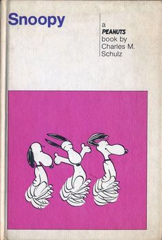 """#vintage """"Snoopy"""" by Charles Schultz"""