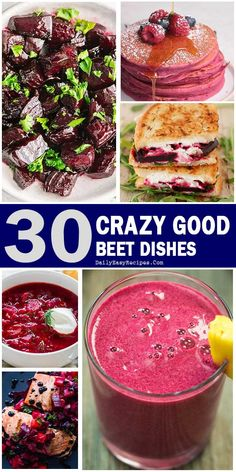 Healthy And Delicious Dishes Make From Beet – Healthy Food: Recipes, food and diet, weight loss Beet Recipes, Vegetable Recipes, Vegetarian Recipes, Cooking Recipes, Healthy Recipes, Crazy Food, Weird Food, Healthy Food Choices, Healthy Snacks