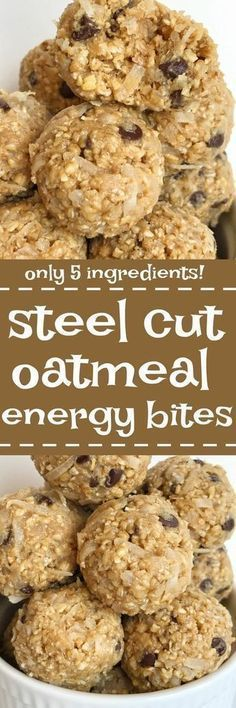 Steel cut oatmeal en