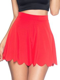 Awesome Red Shorties (AU $45AUD) by Black Milk Clothing