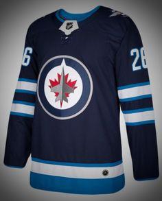 6e2ed6eb1 Winnipeg Jets Premier Adidas NHL Home   Road Jerseys. The Winnipeg Jets  Authentic Pro ...