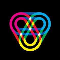 Geometría y Color pueden formar la B de B-Music o la palabra completa.