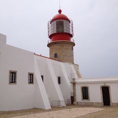 Lighthouse - Sagres. Algarve, Portugal was built in the 16th century