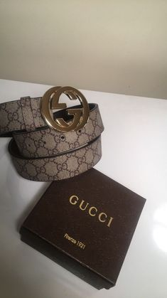 Gucci Belt Double G Size 36-42  fashion  clothing  shoes  accessories   mensaccessories  belts (ebay link) 68b665bff68