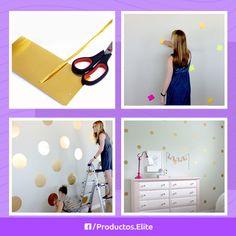 Decora el cuarto de tus hijos con un estilo muy moderno, Da click a la foto para ver los pasos. ;)  #DIY #Decoracion #Habitacion #Moderno