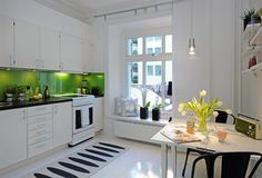 A truly inviting kitchen.