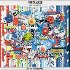 Kit: Firecracker collab by The Digital Press Design Team  http://shop.thedigitalpress.co/Firecracker.html
