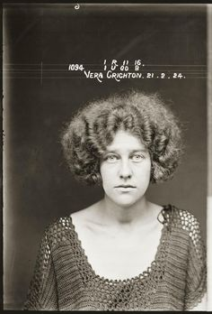 Vera Crichton, 1924. 'Conspiring to procure a miscarriage'.
