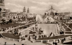 1915 Pan Pacific International Exhibition #sanfrancisco