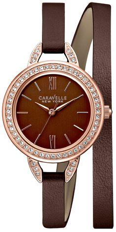 Caravelle New York 44L130 Women's Analog Watch Bro