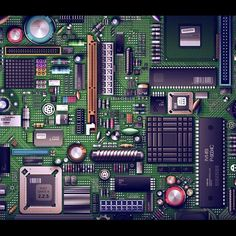 Explore And Share HD Motherboard Wallpaper