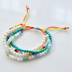 Love this multi strands beaded bracelets?You can check the supplies and tutorial from Pandahall.com