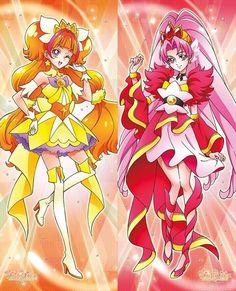 Quest'anno anche le Pretty Cure sono abbastanza Bishoujo - Cure Twinkle e Cure Scarlet