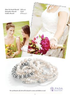 For the Bride and Bridal Party - LOVE Pearls!  Shop these styles at Shop Online: www.mysilpada.com/carolyn.petty
