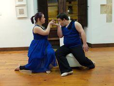 Bailarina con sindrome de down: ACTUACION EN ORDIZIA Escrito por Haizea
