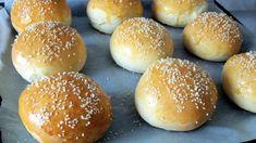 Egy finom Hamburger puffancs ebédre vagy vacsorára? Hamburger puffancs Receptek a Mindmegette.hu Recept gyűjteményében! Bread Rolls, Hamburger, Bread Recipes, Hot Dogs, Food, Places, Rolls, Buns, Essen