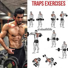 Traps exercises