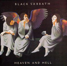 BLACK SABBATH. Heaven & Hell. The best Sabbath album. Neon nights is a must have on my workout tunes.