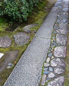 Organic paving #katsuraimperialvilla #kyoto #japan #landscapearchitecture…