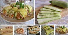 Składniki:1 filet kurczaka,opakowanie sera feta,zioła ( według uznania),ząbek czosnku,sól, pieprz ziołowy,oliwa z oliwekFilet kurczaka kroimy w paski i ubijamy na cienkie plastry. Marynujemy w: oliwa z oliwek, posiekane świeże zioła ...