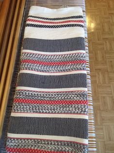Woven blanket as, heavy, warm and durable that lasts more than a lifetime Width approx 88 inches Length approximately 100 inches Care instructions Machine wash and hang to dry. This blanket is woven with passion and attention to detail. Weaving Patterns, Line Patterns, Couture Sewing, Tapestry Weaving, Weaving Techniques, Lana, Sewing Projects, Textiles, Outdoor Blanket