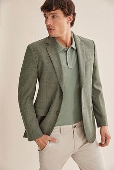 Tailored Jacket, Suit Jacket, Shoe Size Conversion, Online Purchase, Wedding Suits, Knitwear, Pure Products, Blazer, Pique