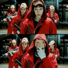 la casa de papel Best Series, Tv Series, Draw On Photos, Paper Houses, Halloween Outfits, Movies Showing, Good Movies, Fangirl, Tokyo