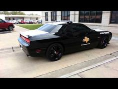 This car is BAD A$$. New Texas state trooper dodge challenger srt 392 h