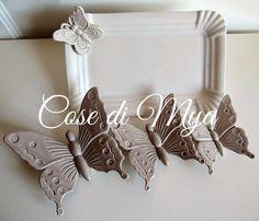Coordinato in ceramica Shabby Chic, by COSE DI MYA, 30,00 € su misshobby.com