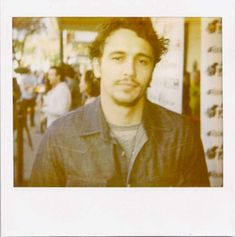 James Franco | 26 Fascinating Polaroids Of Celebrities