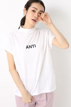 EVERLAST/エバーラストHI NECK logo tee/ハイネックロゴTシャツ